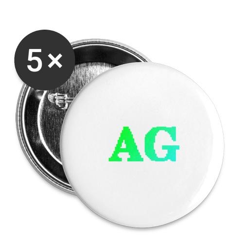 ATG Games logo - Rintamerkit isot 56 mm (5kpl pakkauksessa)