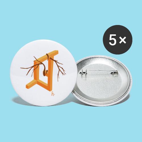 Autumn Season - Buttons groß 56 mm (5er Pack)