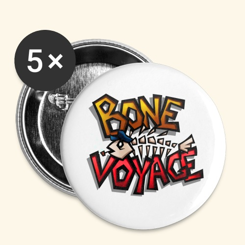 Logo - Buttons large 2.2''/56 mm (5-pack)