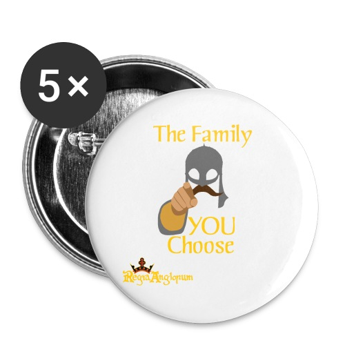 The Family You Choose - Buttons large 2.2''/56 mm (5-pack)