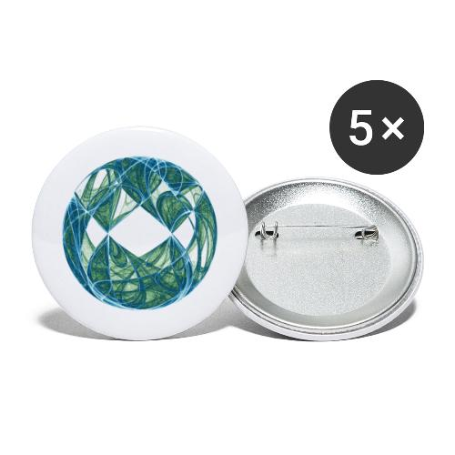 Harmony in the Ocean of Elements 446oce - Buttons large 2.2''/56 mm(5-pack)