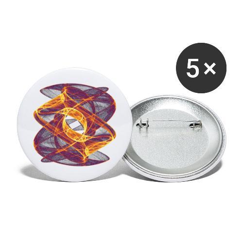 Auge im Inferno 7247i - Buttons groß 56 mm (5er Pack)