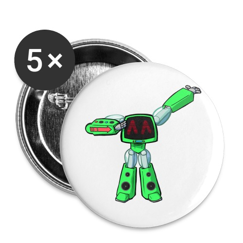 Paradise Machine - Buttons groot 56 mm (5-pack)