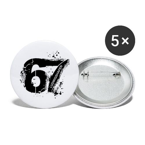 City_67_Ludwigshafen - Buttons groß 56 mm (5er Pack)