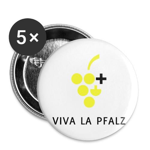 W+ Viva la Pfalz - Buttons groß 56 mm (5er Pack)