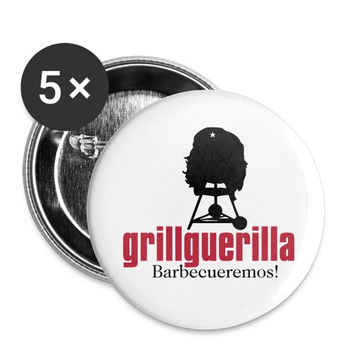 gg kompakt gross - Buttons groß 56 mm (5er Pack)