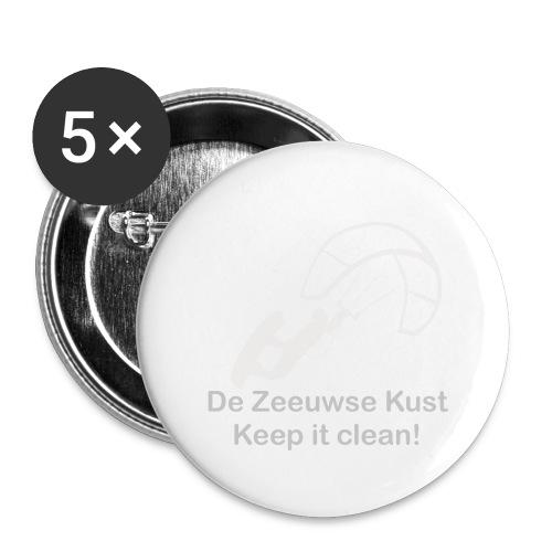Zeeuwse Kust - Buttons groß 56 mm (5er Pack)