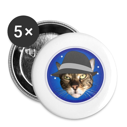 GeorgeBlue - Buttons large 2.2''/56 mm(5-pack)