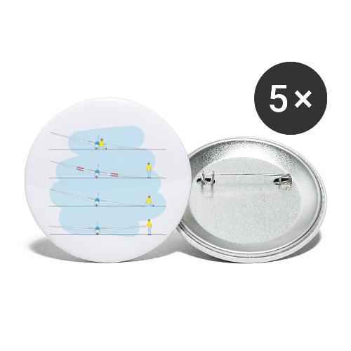 4x tip runner - Buttons large 2.2''/56 mm(5-pack)