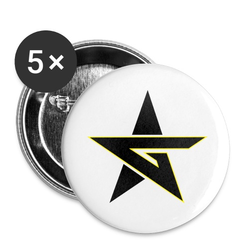 Last Dragon - Buttons large 2.2''/56 mm(5-pack)