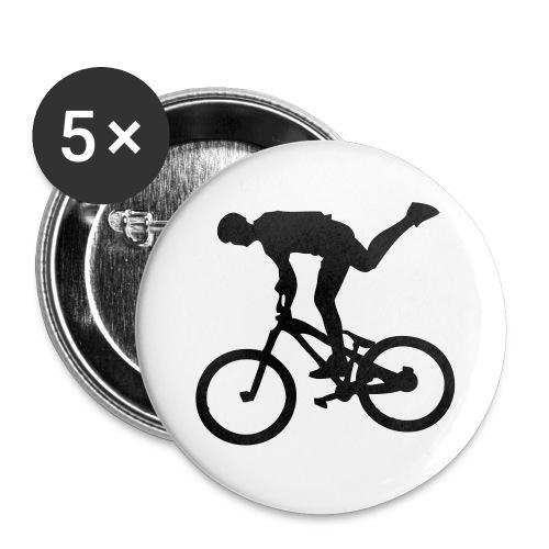 One Foot - Lot de 5 grands badges (56 mm)