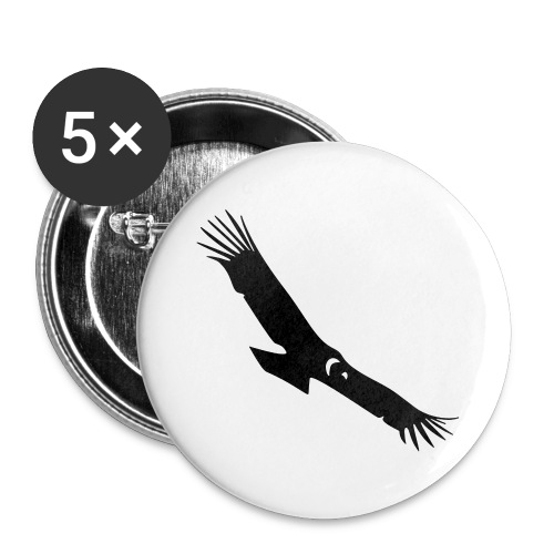 Condor - Buttons large 2.2''/56 mm(5-pack)