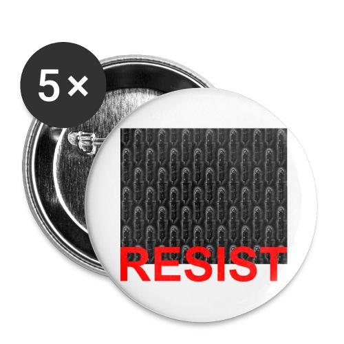 Resist 21.1 - Buttons groß 56 mm (5er Pack)