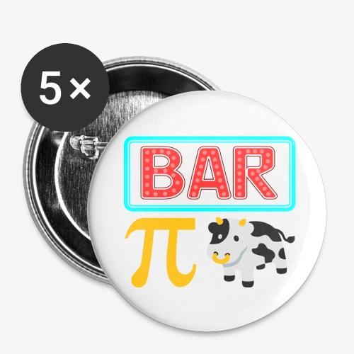 Bar-Pi-Kuh - Buttons groß 56 mm (5er Pack)