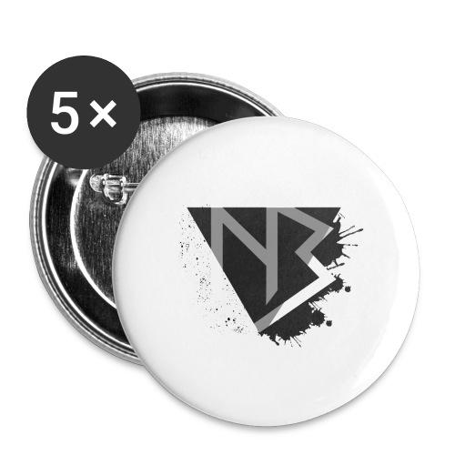 T-shirt NiKyBoX - Confezione da 5 spille grandi (56 mm)
