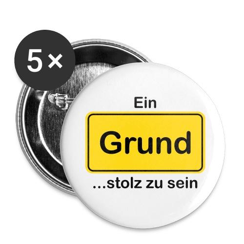 Grund_divers - Buttons groß 56 mm (5er Pack)