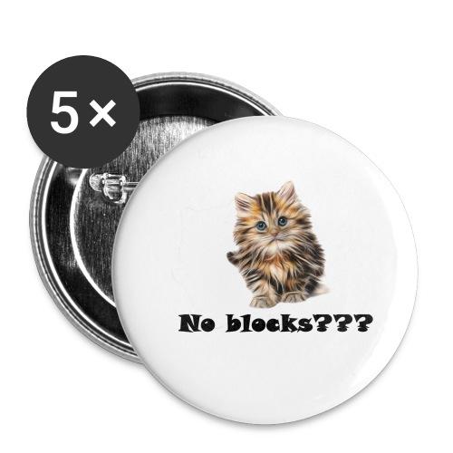 No block kitten - Stor pin 56 mm (5-er pakke)