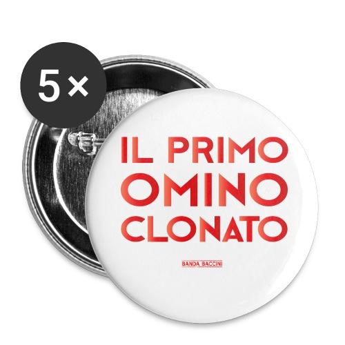 Il Primo Omino Clonato. - Confezione da 5 spille grandi (56 mm)