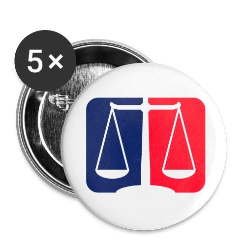 Logo2 - Buttons groß 56 mm (5er Pack)