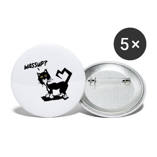 Stray cat - Confezione da 5 spille grandi (56 mm)