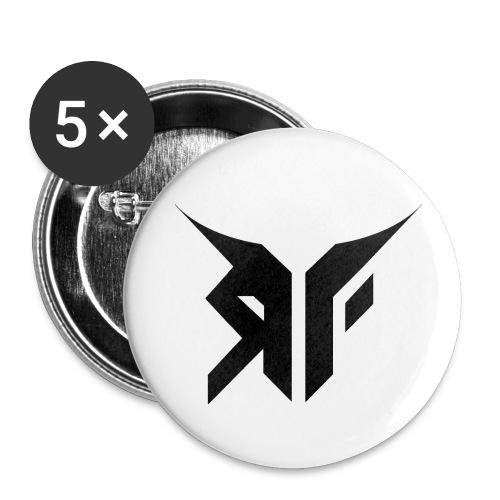 RebelFlyLogoT ShirtPrint png - Stor pin 56 mm (5-er pakke)