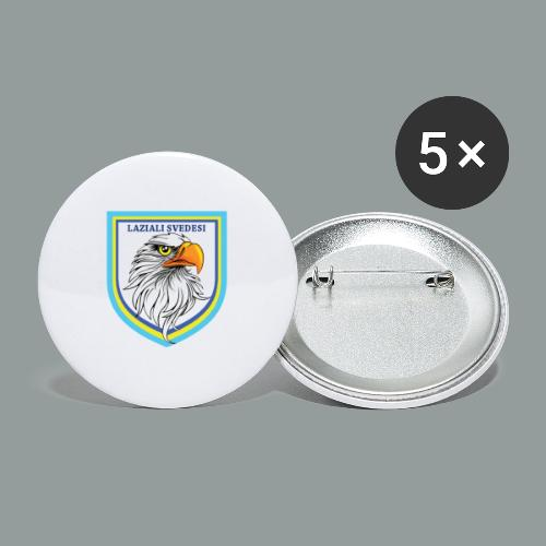 T-shirt - Stora knappar 56 mm (5-pack)
