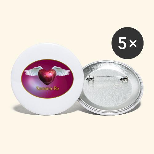 Sarama Re - Buttons groß 56 mm (5er Pack)