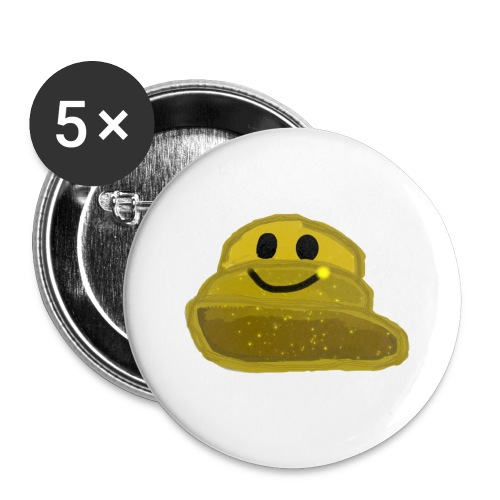 EinfachMC-Logo - Buttons groß 56 mm (5er Pack)
