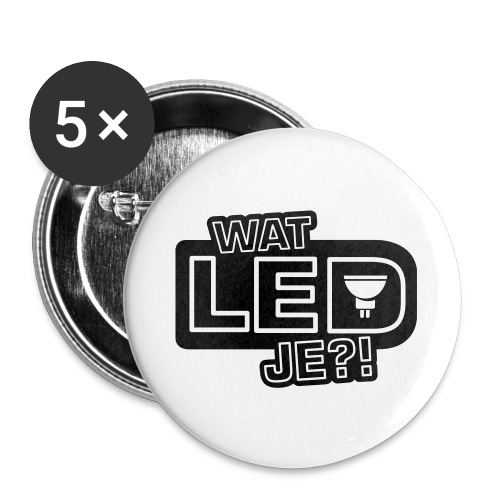 bbb watledje - Buttons large 2.2''/56 mm (5-pack)