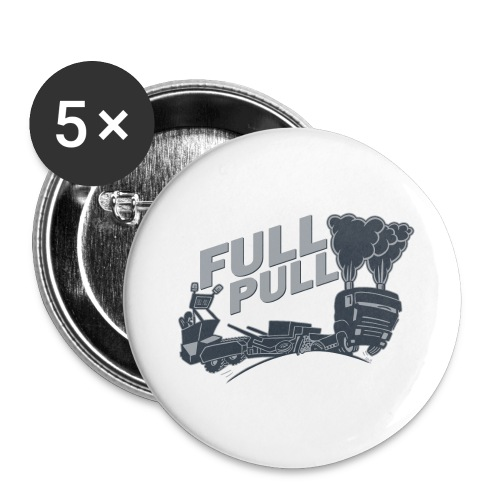 full pull duotone contour landscape - Buttons groot 56 mm (5-pack)