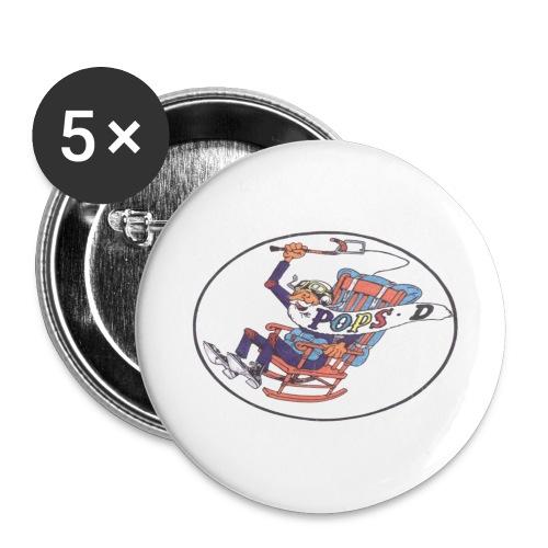o85000 - Buttons groß 56 mm (5er Pack)