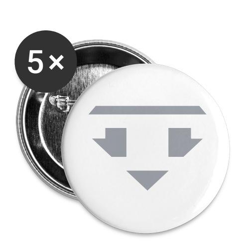 Twanneman logo Reverse - Buttons groot 56 mm (5-pack)