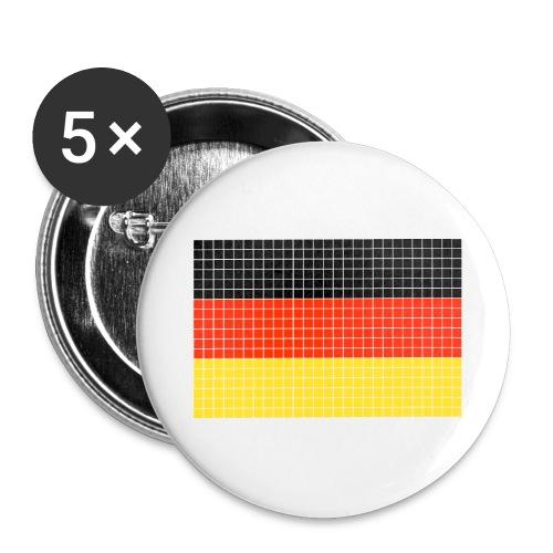 german flag.png - Confezione da 5 spille grandi (56 mm)