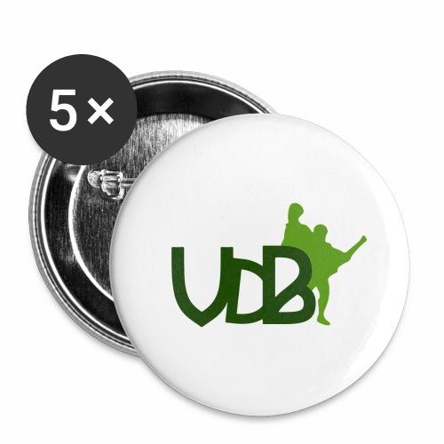VdB green - Confezione da 5 spille grandi (56 mm)