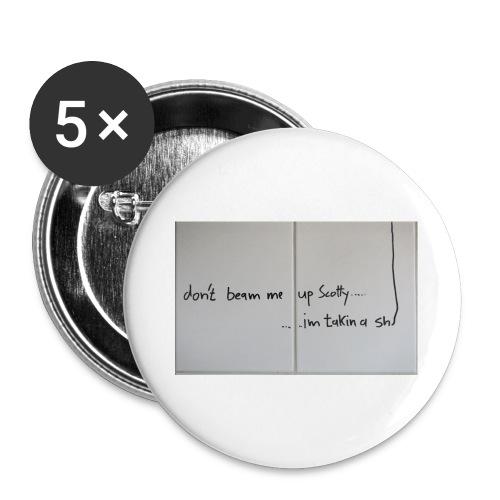 SCOTTY - Buttons groß 56 mm (5er Pack)