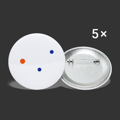 Serotonin - Lot de 5 grands badges (56 mm)
