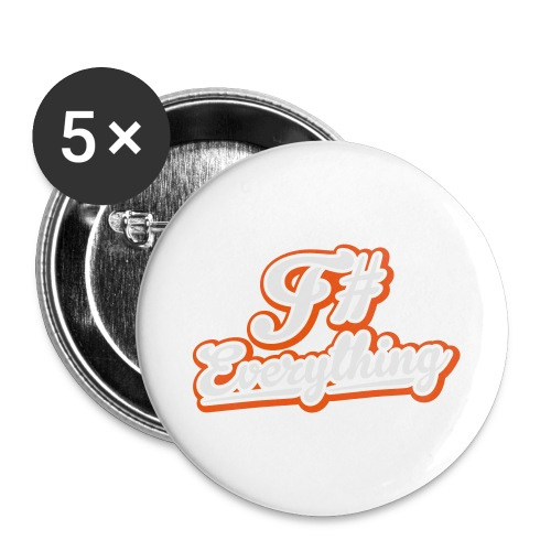 F# Everything - Buttons large 2.2''/56 mm(5-pack)