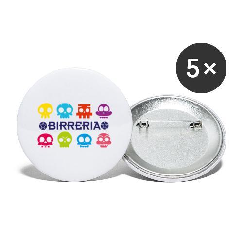 Birreria Kids Fun - Buttons groß 56 mm (5er Pack)