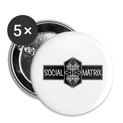 HET ORIGINEEL - Buttons groot 56 mm (5-pack)
