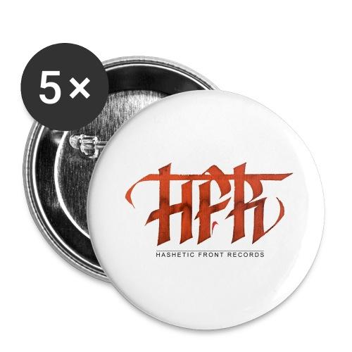 HFR - Logotipo fatto a mano - Confezione da 5 spille grandi (56 mm)