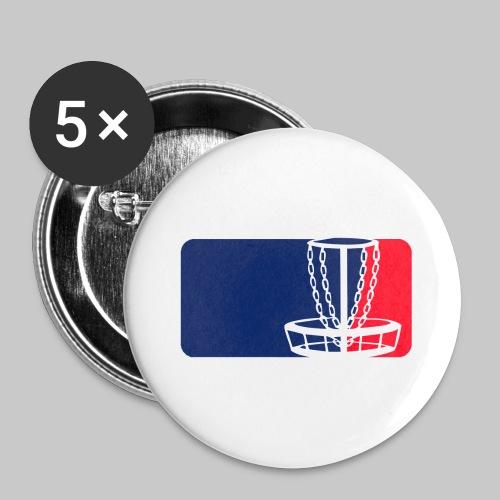 Disc golf - Rintamerkit isot 56 mm (5kpl pakkauksessa)