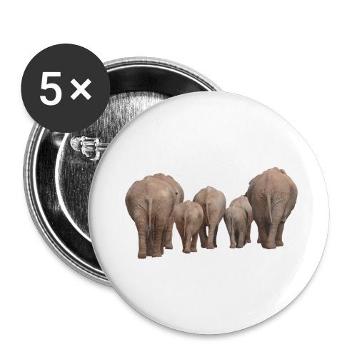 elephant 1049840 - Confezione da 5 spille grandi (56 mm)