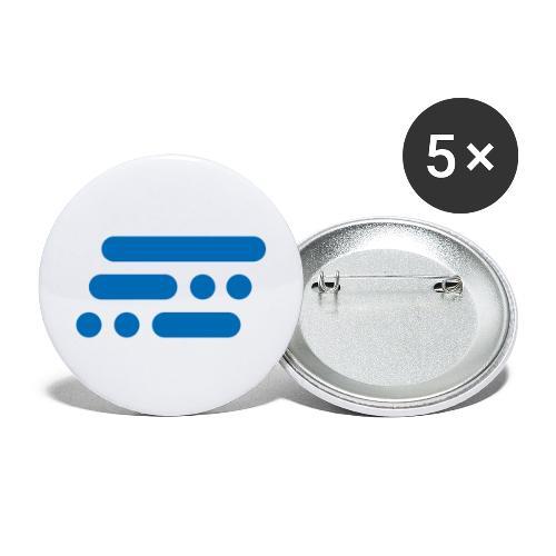 Bildmarke Blue - Buttons/Badges stor, 56 mm (5-pack)