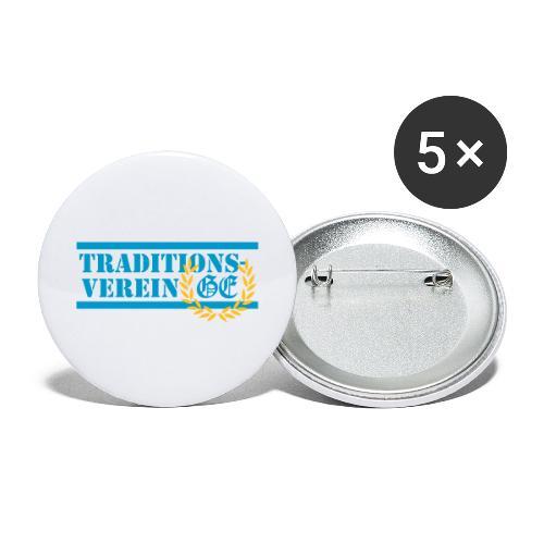 Traditionsverein - Buttons groß 56 mm (5er Pack)