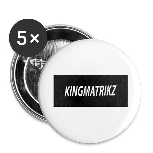 kingmatrikz - Buttons/Badges stor, 56 mm (5-pack)