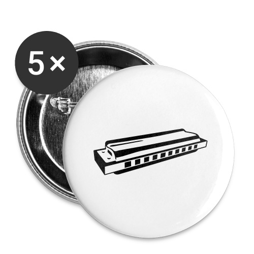 Harmonica - Buttons large 2.2''/56 mm(5-pack)