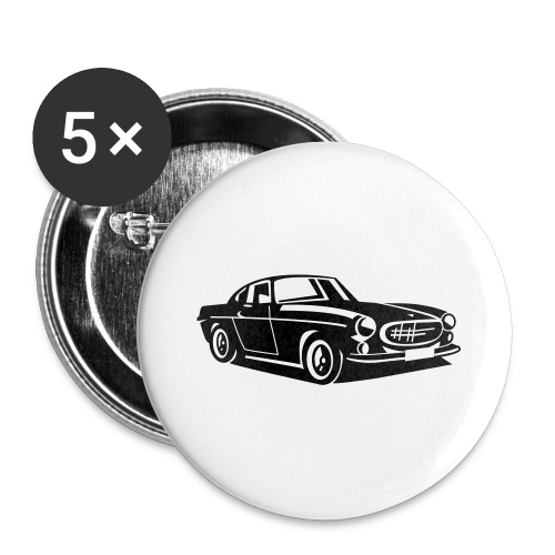 Volvo P1800 The Saint - Buttons groß 56 mm (5er Pack)