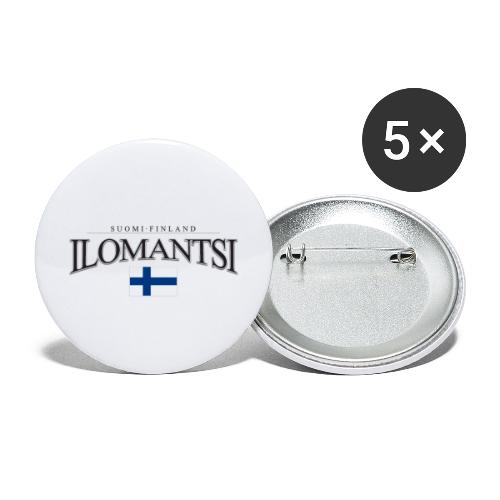 Suomipaita - Ilomantsi Suomi Finland - Rintamerkit isot 56 mm (5kpl pakkauksessa)