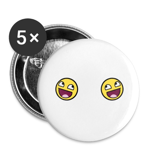 Design lolface knickers 300 fixed gif - Buttons large 2.2''/56 mm(5-pack)
