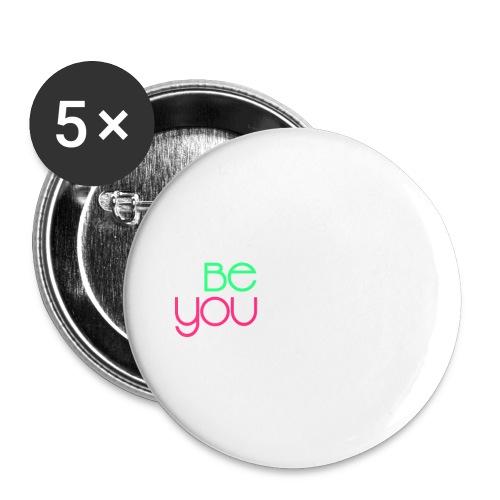 be you - Confezione da 5 spille grandi (56 mm)